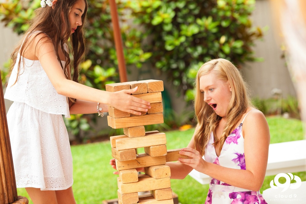 Yard Games Jenga, party games