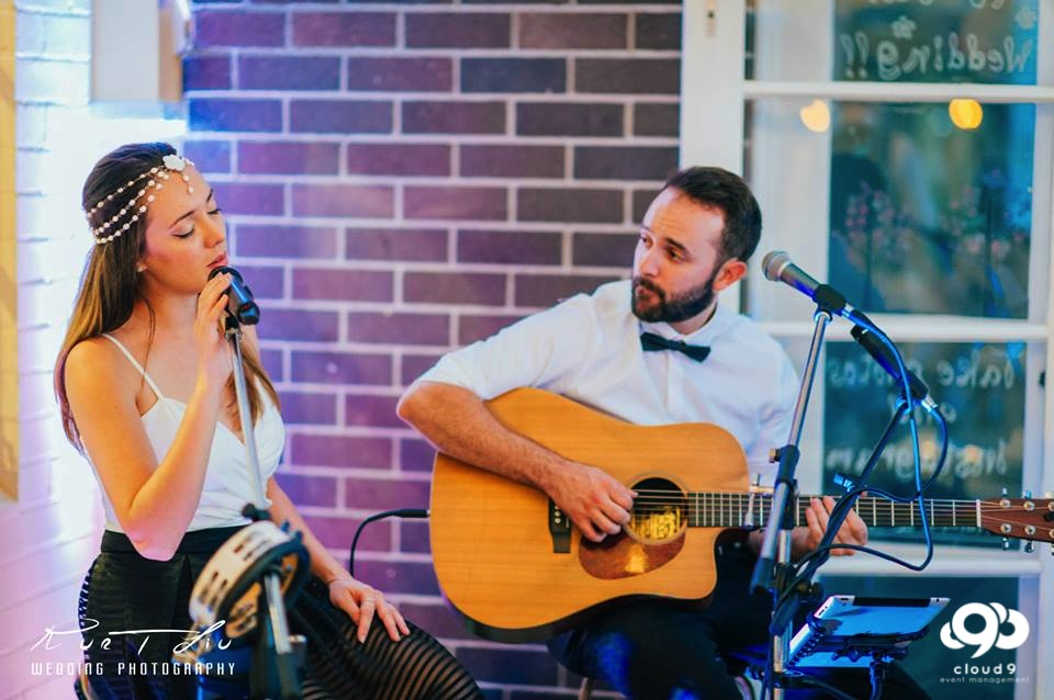 Acoustic Duo - perform on the balcony at Manly Yacht Club