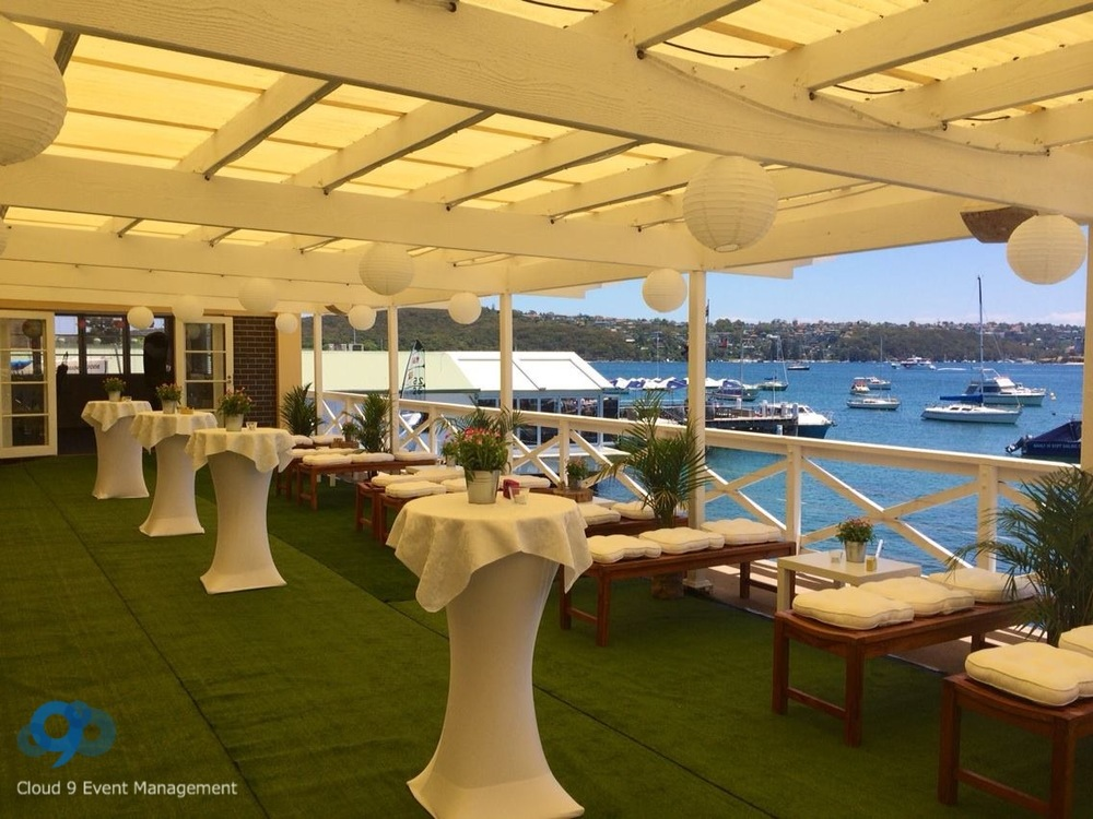 Manly Yacht Club Weddings Cloud 9 Event Management
