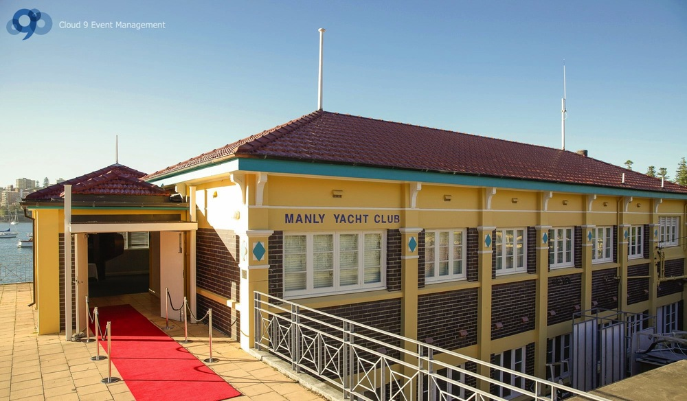 Yacht Club Entry - Red Carpet Entrance