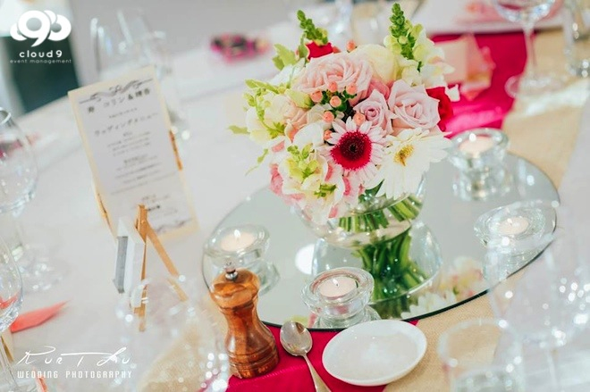 Formal Table Centrepiece