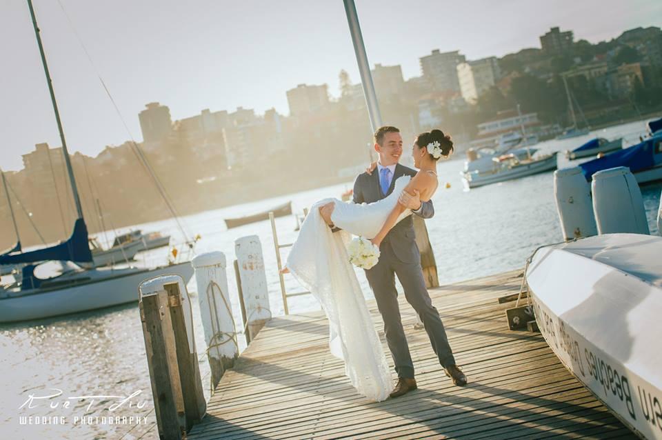 Colin & Haruka|Manly Yacht Club