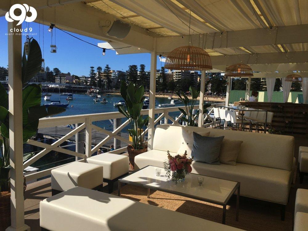 Manly Yacht Club Wedding Boho Style Waterfront E-36.jpg
