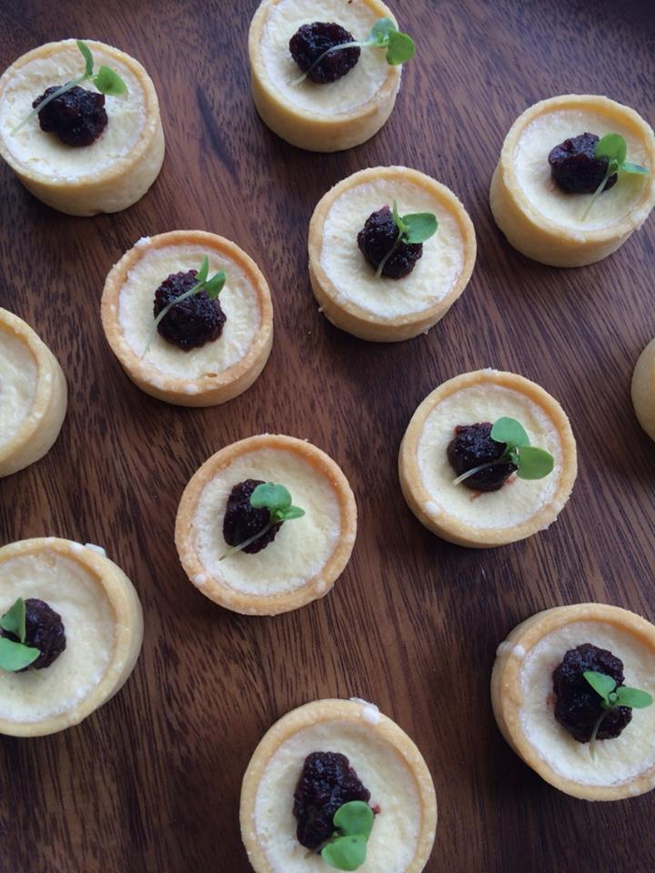 Beatroot + goats cheese mini tart.jpg