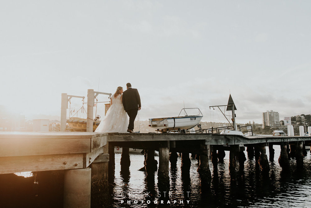 Bride Groom Sunset Manly Wedding Inspiration.jpg