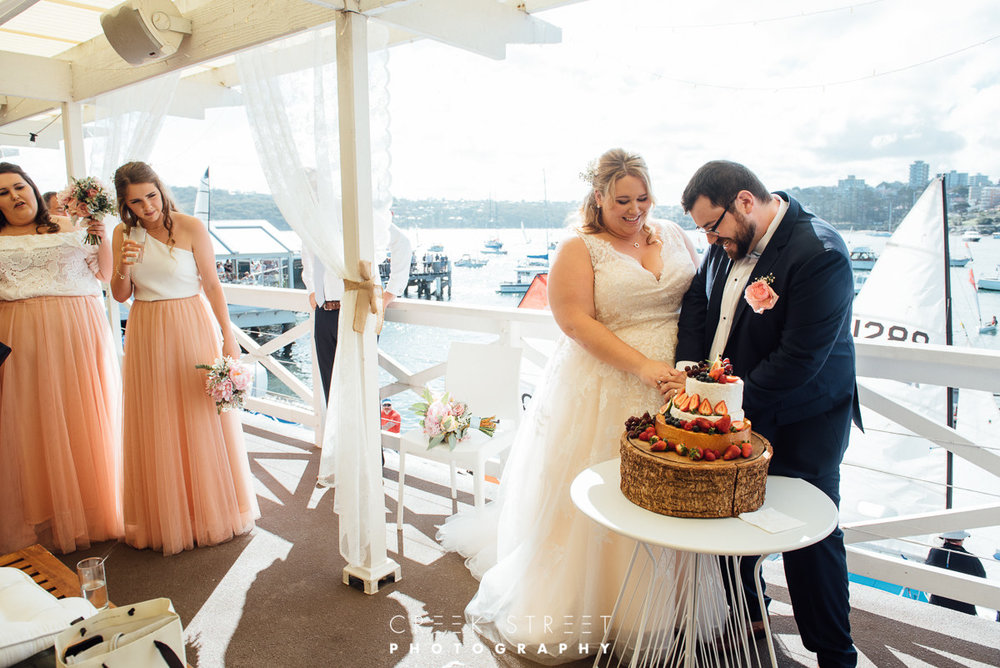 Cheese Cake Wedding Cake Manly Yacht Club.jpg