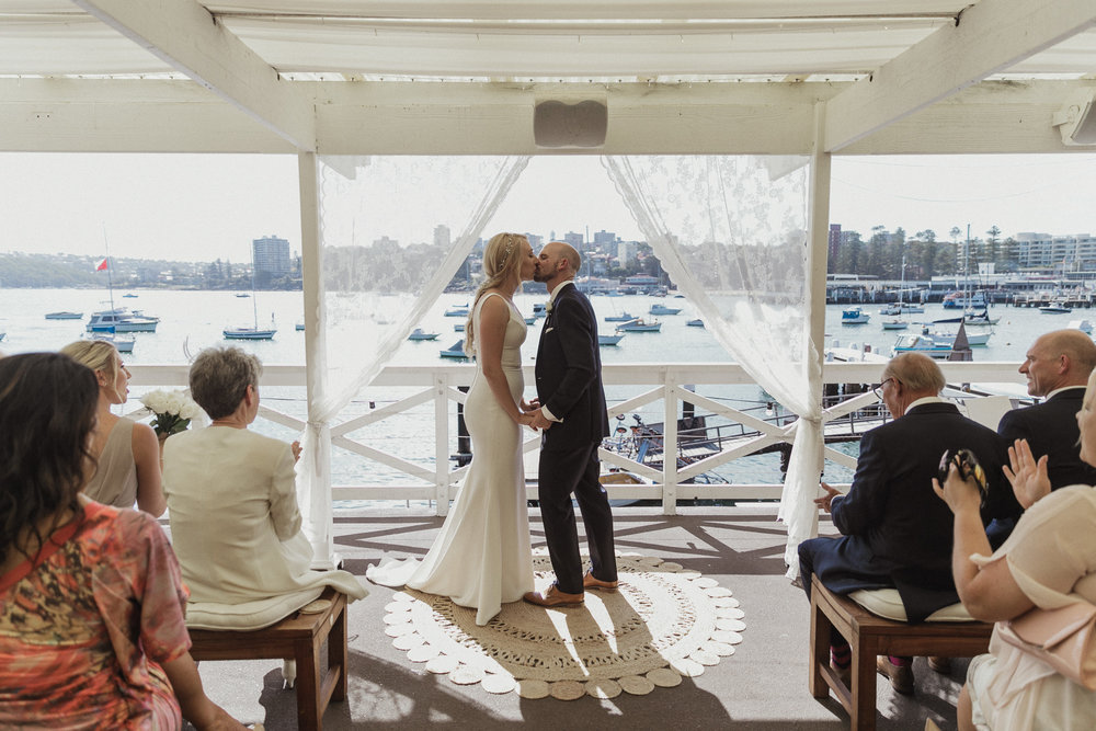 MARK + AIMEE - MANLY YACHT CLUB