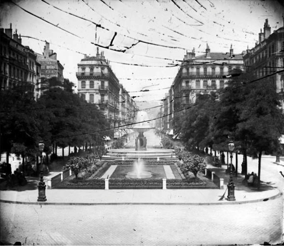 Rue Impériale, Lyon (Archives Municipales de Lyon).