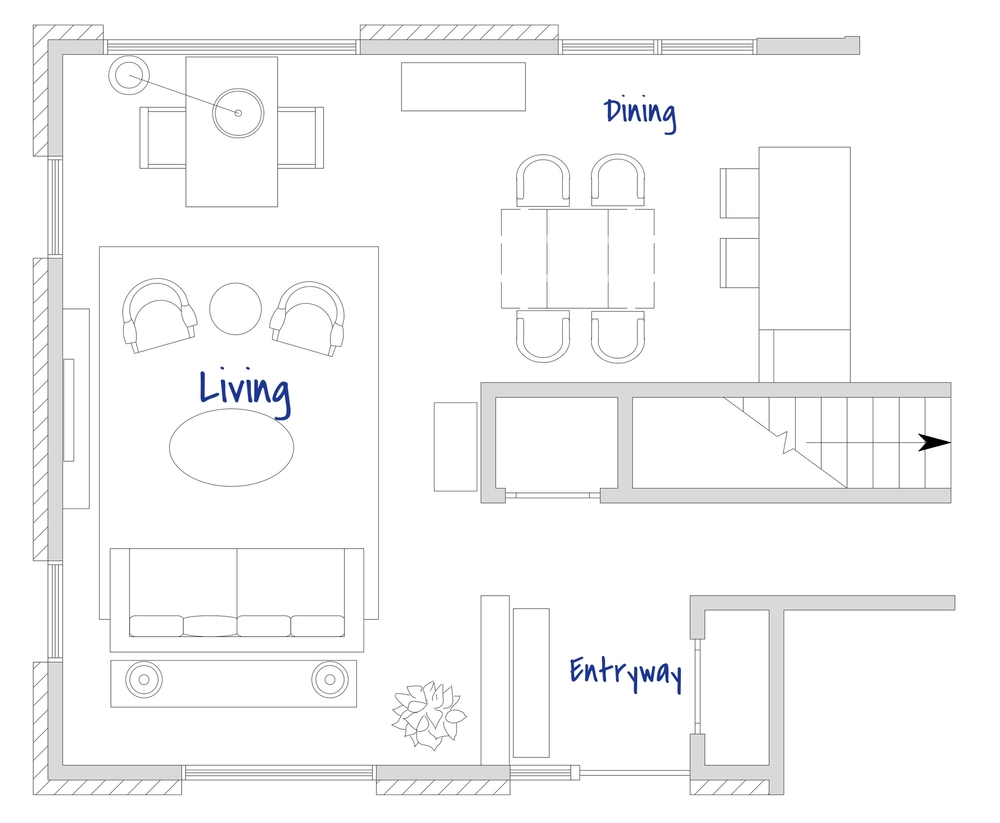 Floor Plan: Living Room