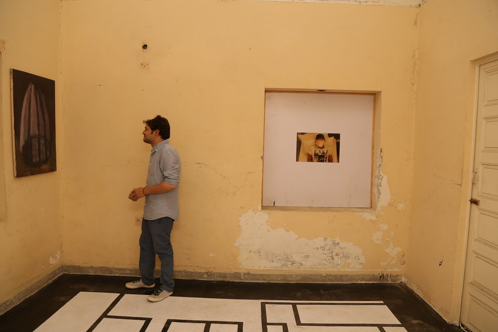 Abdullah Qureshi   Installation view