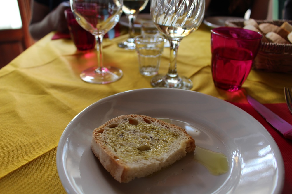 Starter: bruschetta