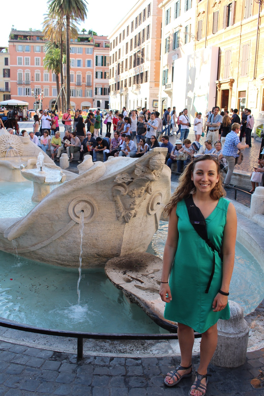 Fountain by the Spanish Steps
