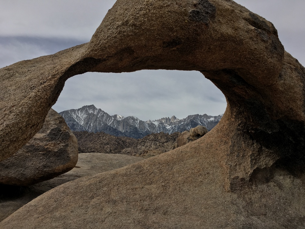 Mobius Arch- framing Mt. Whitney