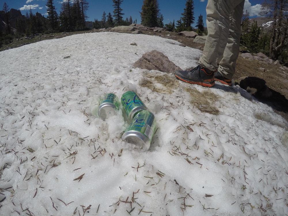 Ice cold summit 'croix.