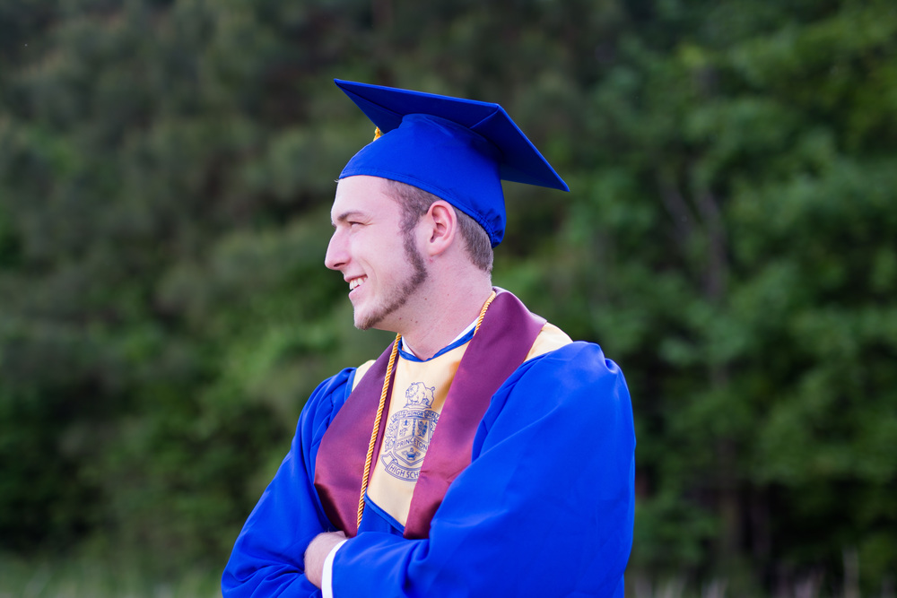 Hunter Hill || Princeton High School Cap & Gown — Erin Schultze ...