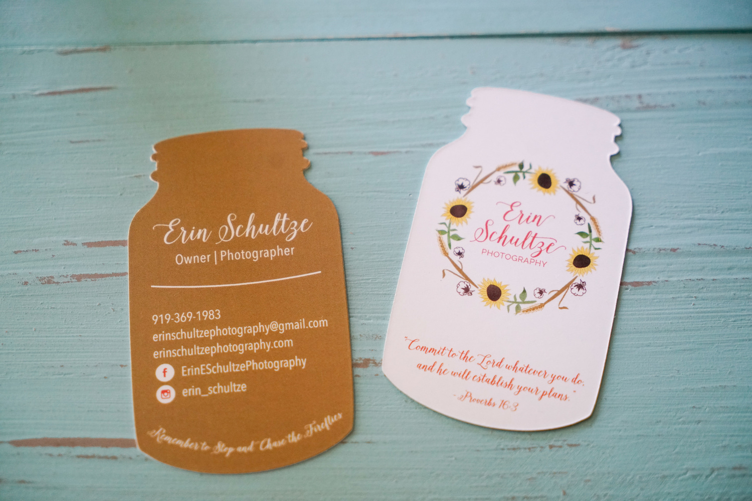 Erin Schultze Photography || Business Cards — Erin Schultze ...