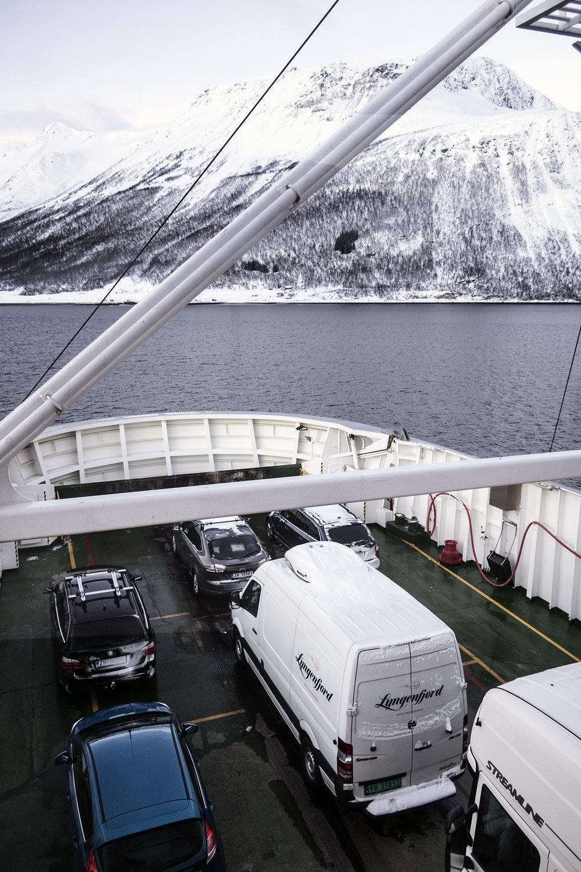 Ferry Svensby-Breivikeidet