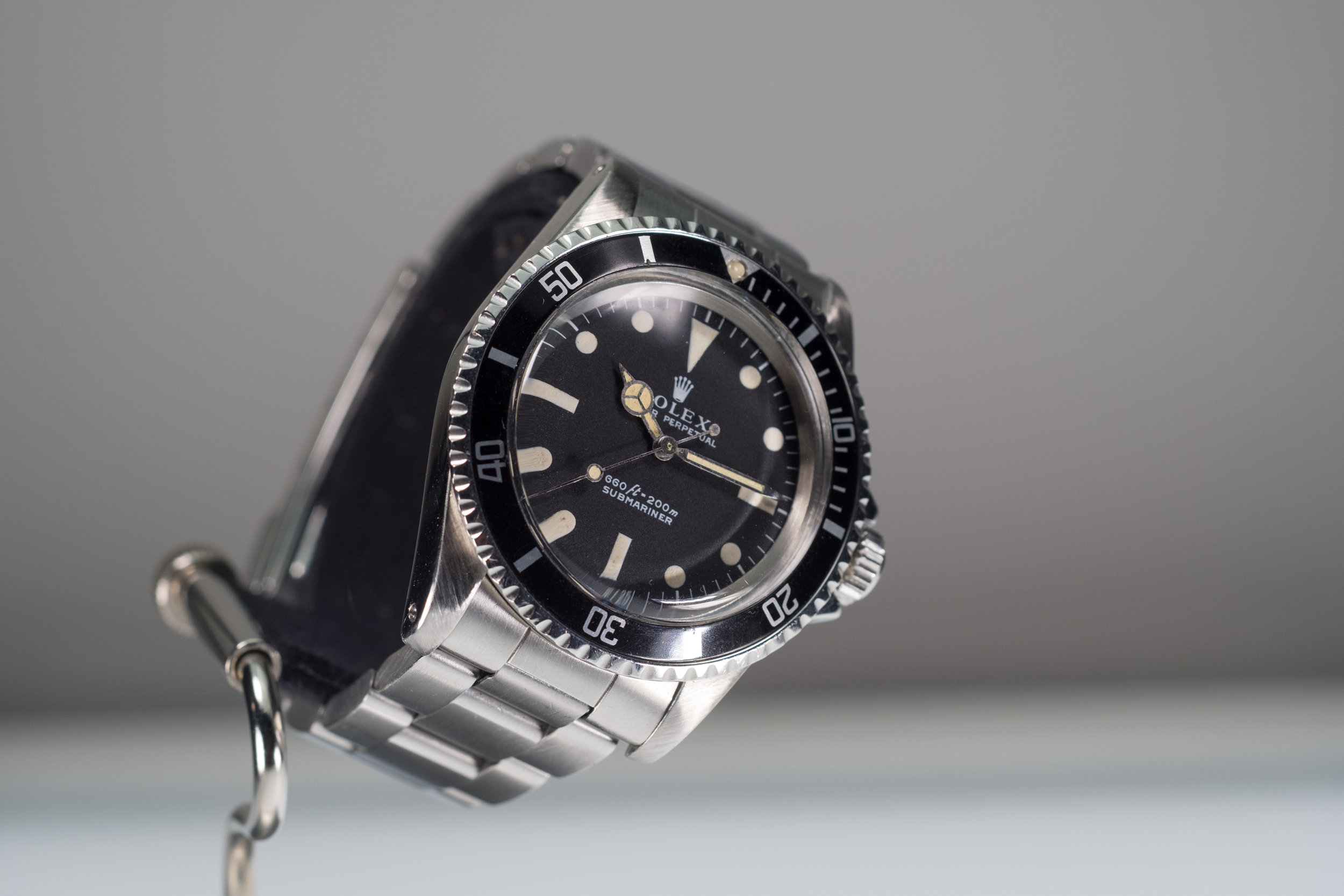 submariner maxi platinum rolex vintagewatches and patina grey