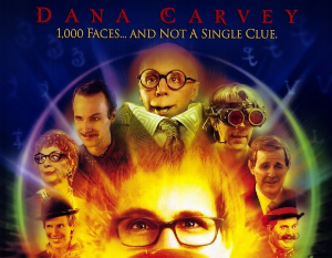 Three of the eight characters on the poster actually appear in the film.