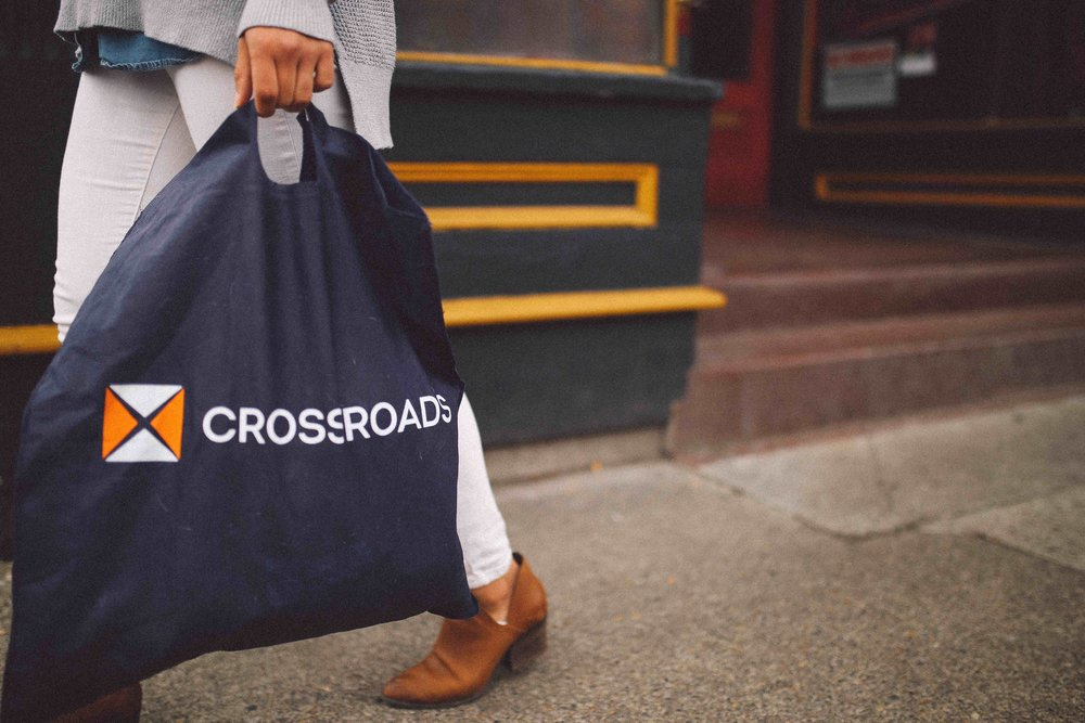 Crossroads Trading Co. is a second - hand resale U.S. chain.