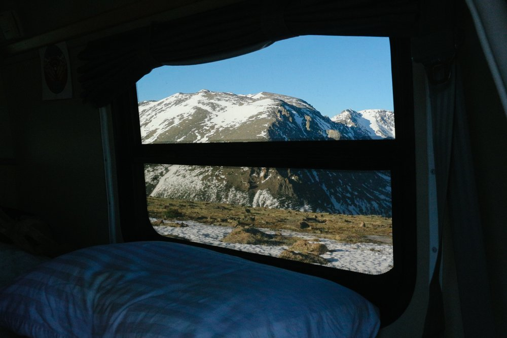 Vanlife view