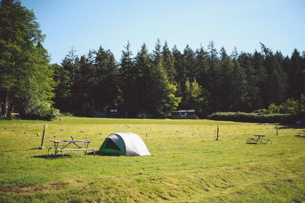 Tent Campsite