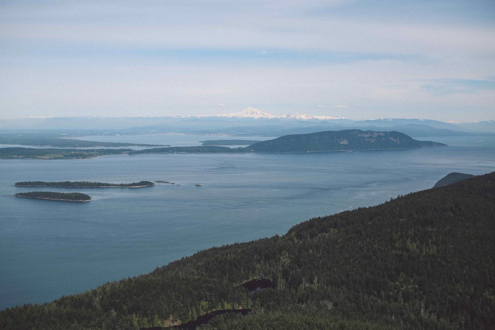 View from Mount Constitution