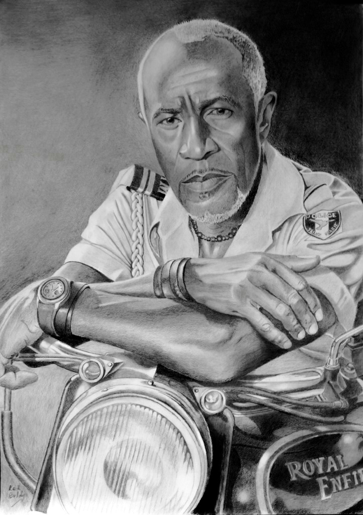 Danny John-Jules star of Death in Paradise & Red Dwarf