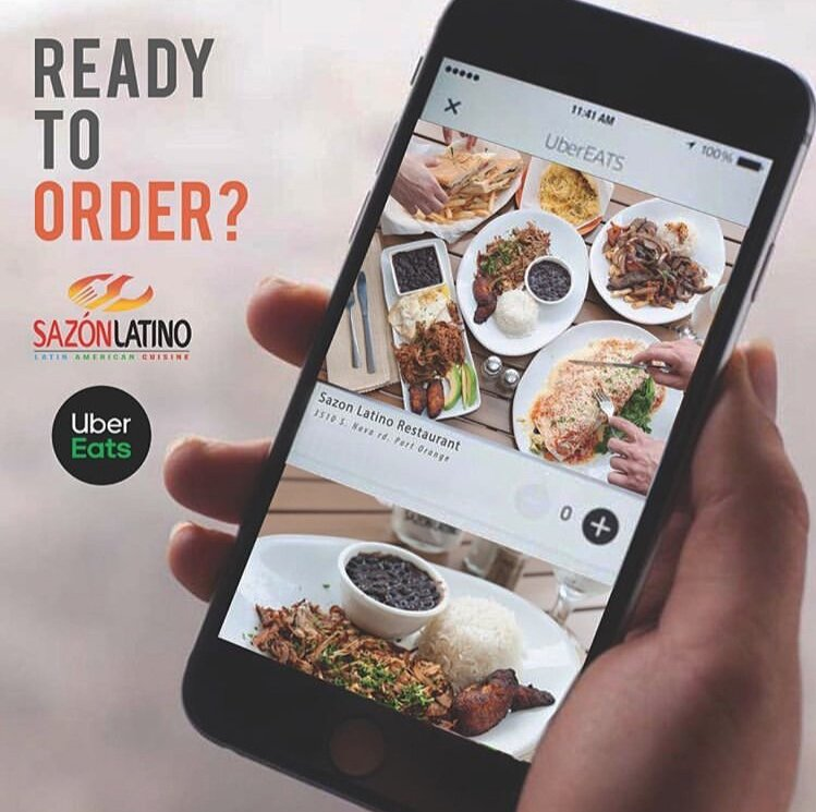 Uber Eats Advertising / Sazon Latino