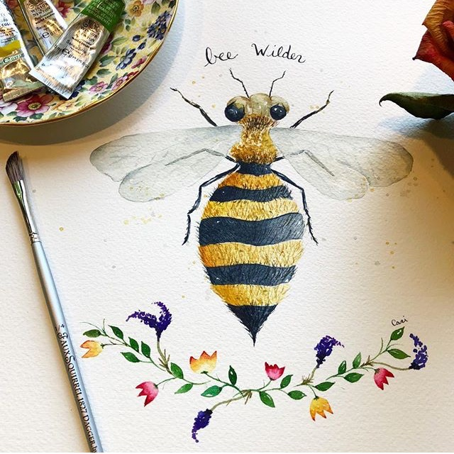 Our very own Casi Fordham is gracing our walls with her whimsical watercolors! Inspired by nature, Casi captures delicate flowers and adorable woodland creatures with delicate delight. Please join us for an opening reception on Friday, November 9th here at the salon from 6:00 pm to 8:00 pm.