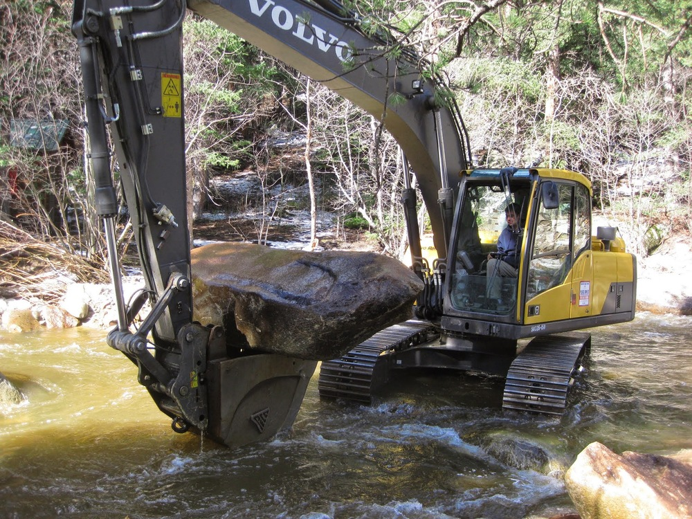 River Restoration Work