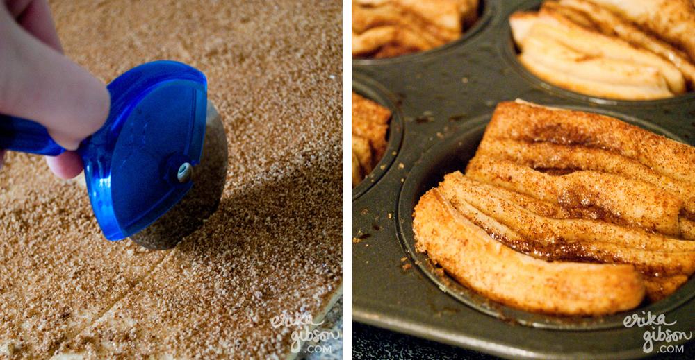 Pumpkin Spice Pull-Apart Mini Bread Recipe | Erika Gibson