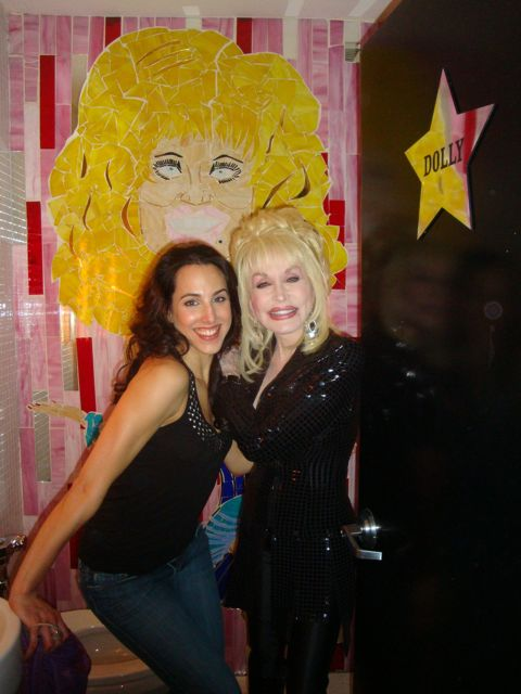 Dolly and I in the Dolly Bathroom at Vynyl.jpg