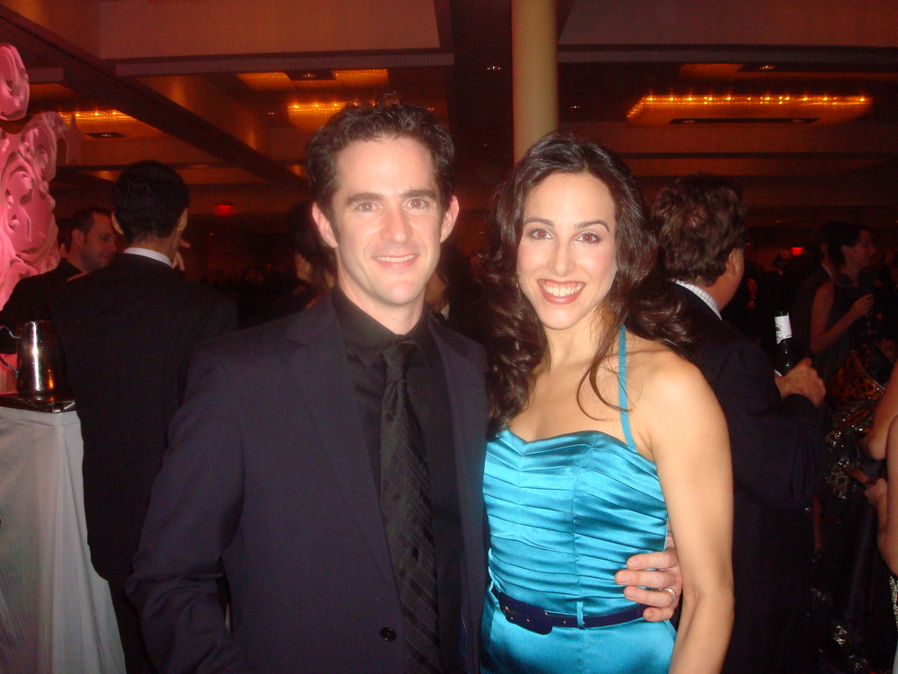 Opening Night w: Andy Blankenbuehler.JPG
