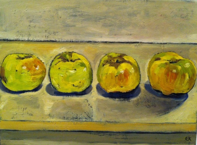 6 dessert apples