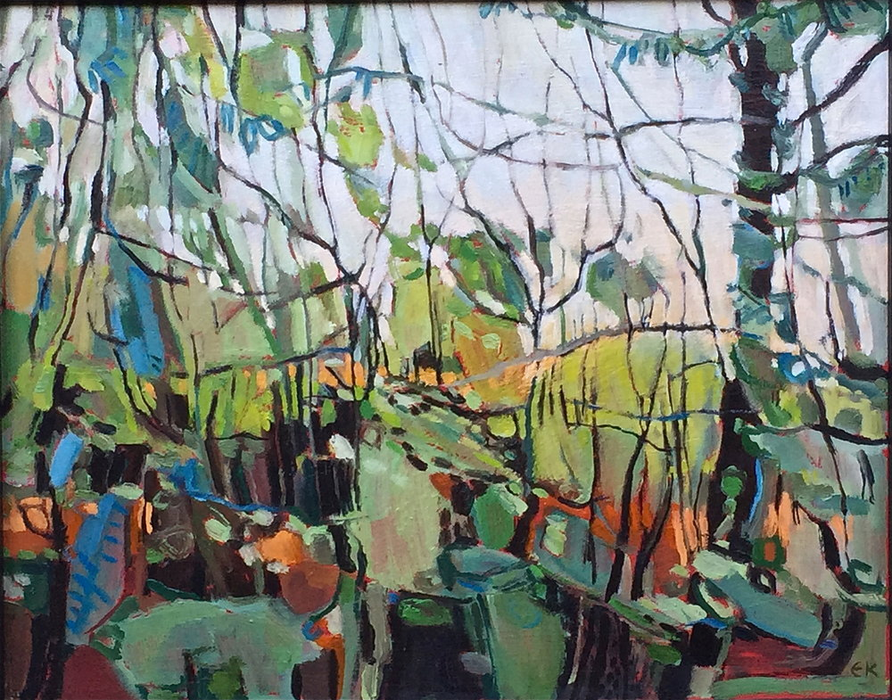 Ploughman Wood, Bright Autumn Day