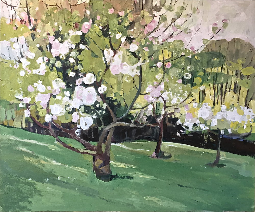 Apple Blossom by the Dell