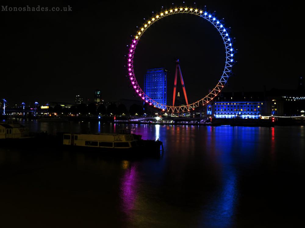 The London Eye seen from Embarkment  ©Teresa Jambur