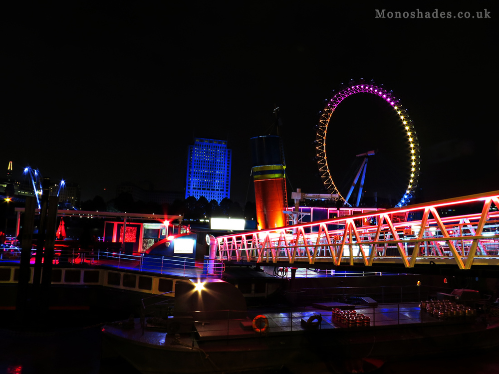 A Party Boat on the River Thames  ©Teresa Jambur