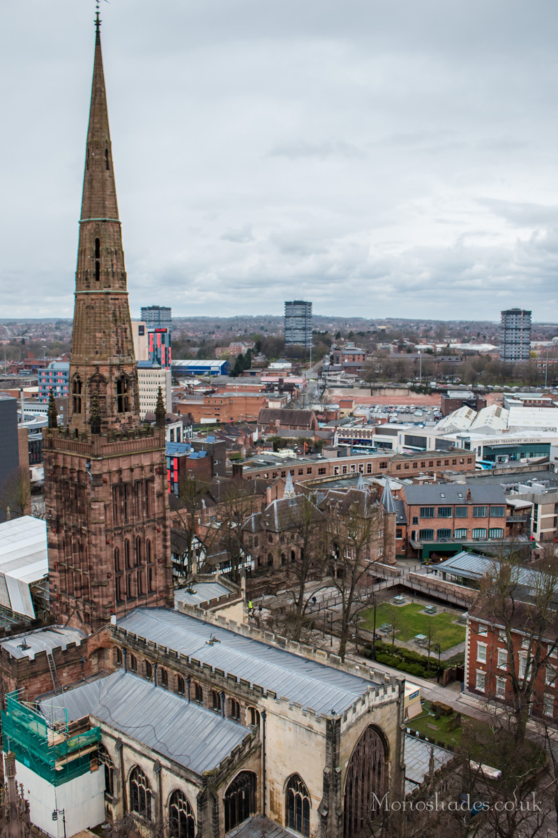 Holy Trinity Church as seen from the St Michael's Tower