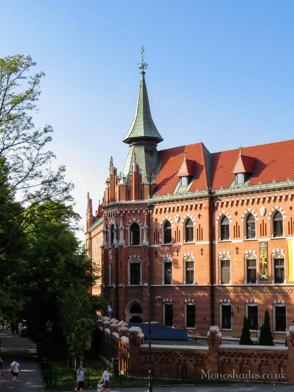 A building on Podzamcze street