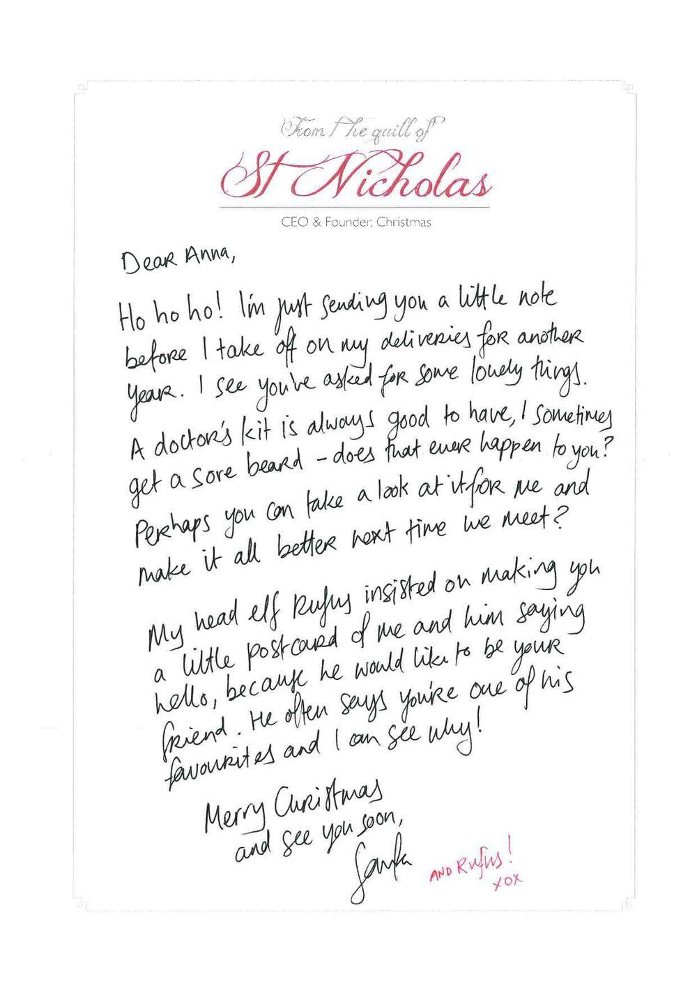 santa letters shocko