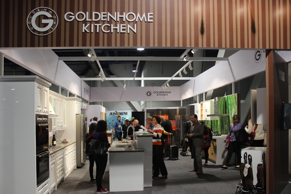 Goldenhome Makes Its First To United States Industry By Exhibiting At The  Kitchen U Bath Industry Show Kbis At The Las Vegas With Vegas Kitchen And  Bath ...