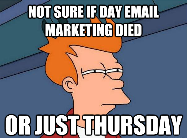 Not sure if email marketing dead