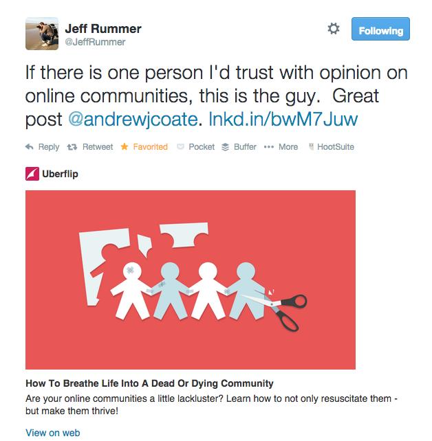 Jeff Rummer likes me.