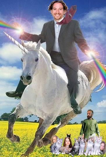 Geoff Deakin Rides Unicorns