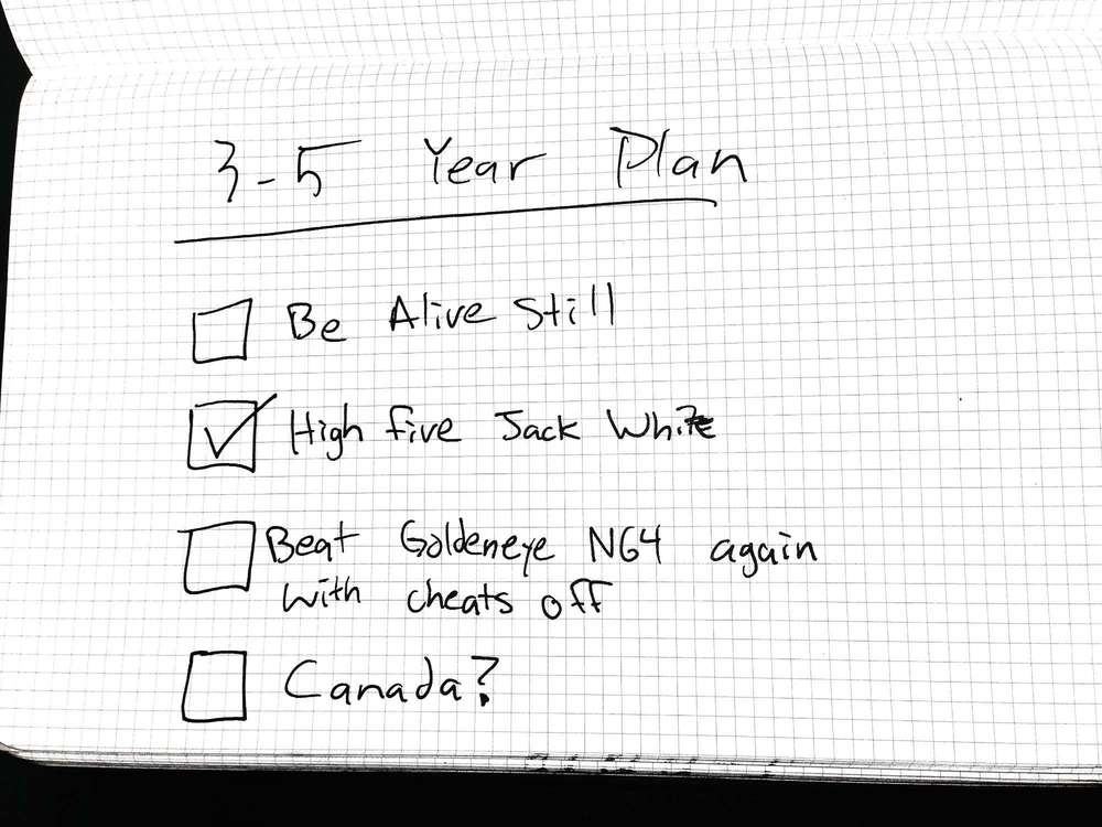 3-5 year plan