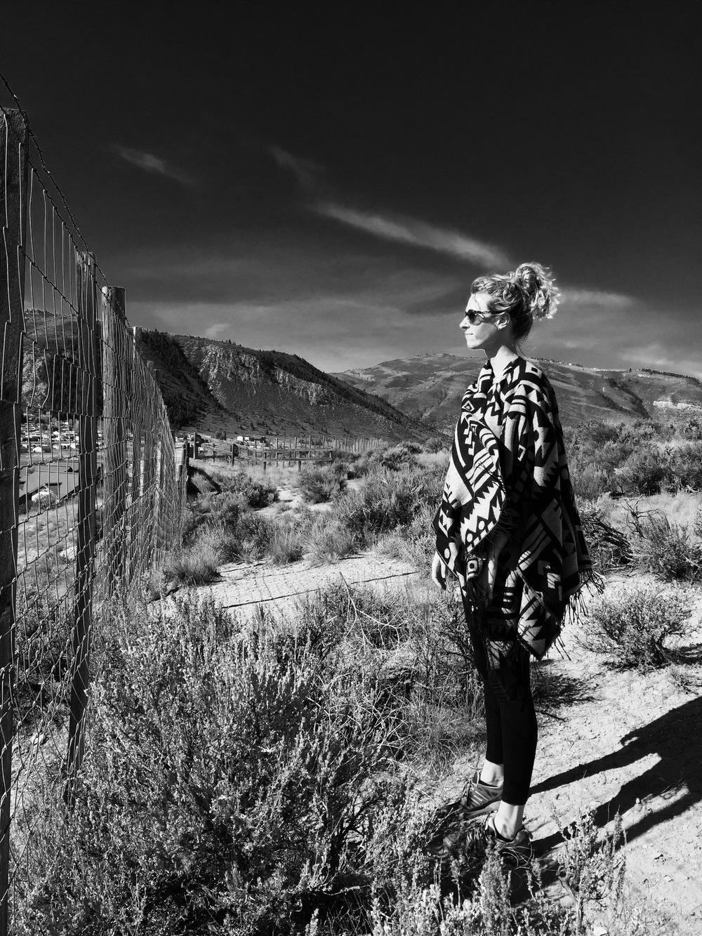 Jill Poncho Colorado