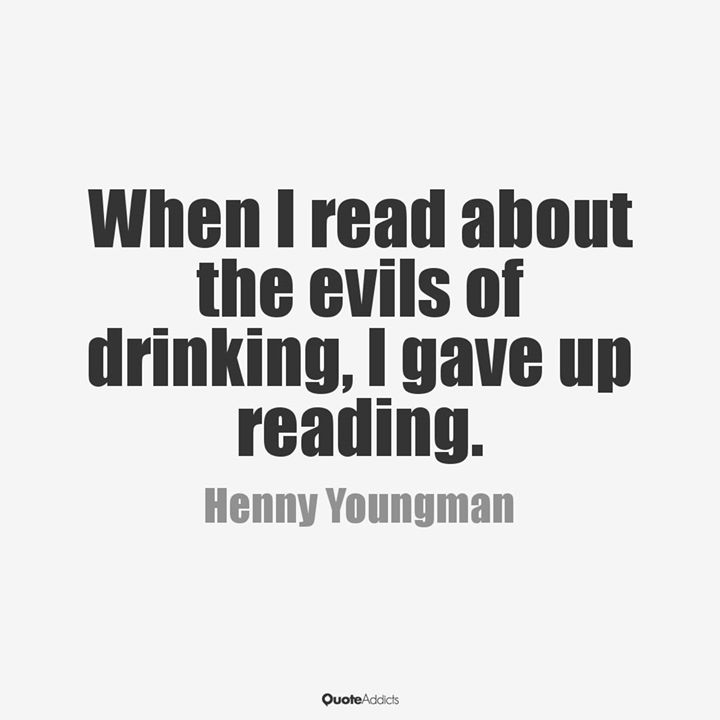 Evils of drinking