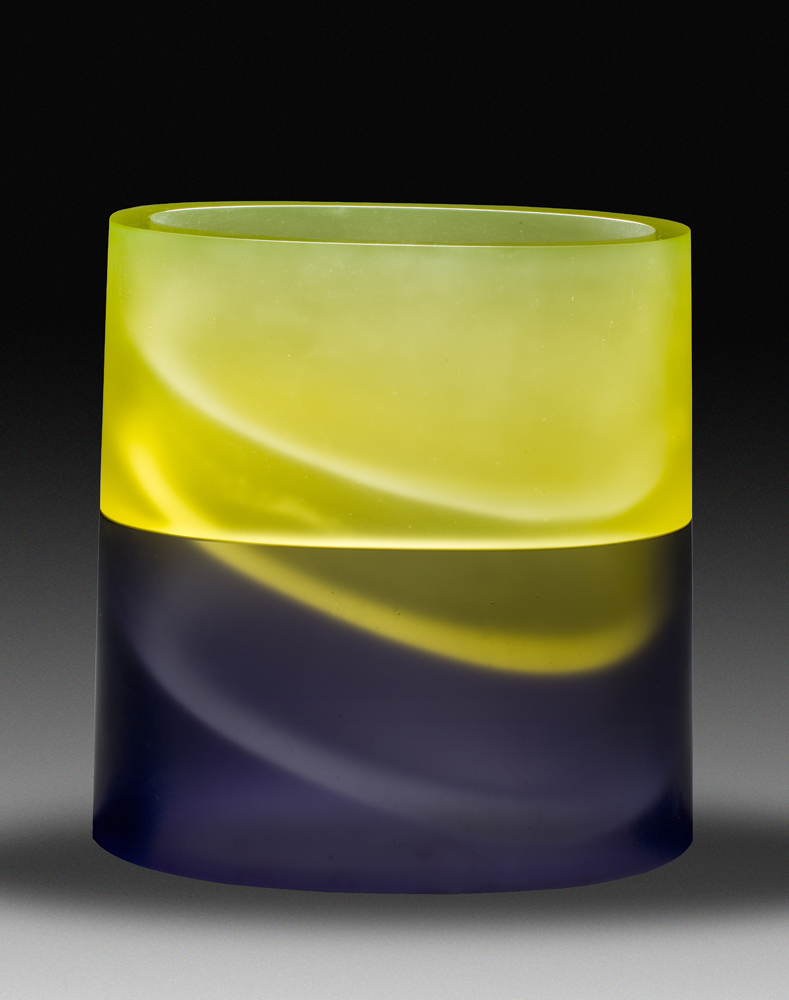 ARISE Cast glass  17 x 15 x 7.5""